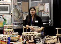 Cherokee National Treasure Basketry 1995