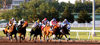 Remington Park - May 17, 2014 - Futurity Trial and QH races.