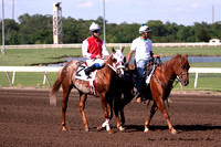 Remington Park- (MX) Futurity Trail - 350 yards- race 4 - 9721