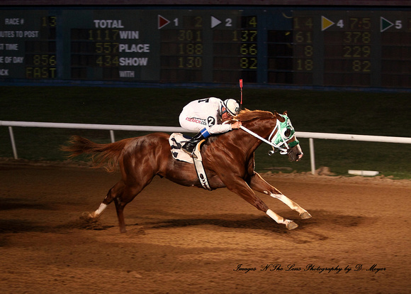 Mix Futurity Trial _ race 13_ for Paints and Appaloosa 2 year olds